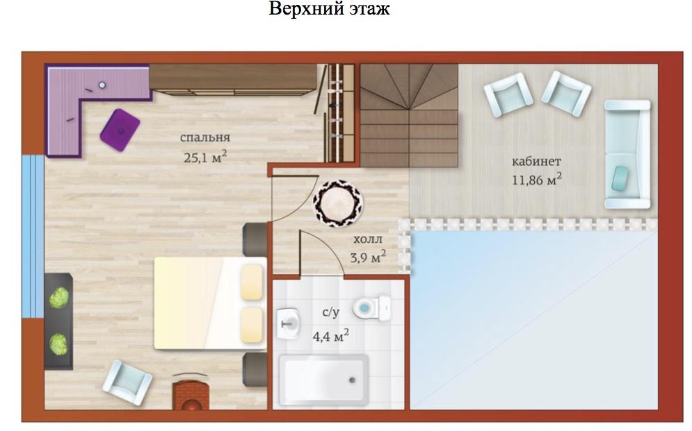 Планировка Шестикомнатные квартиры площадью 177.9 кв.м в ЖК «Близкое»